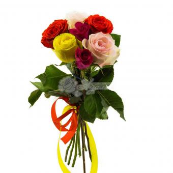 Букет из 7 Эквадорских роз