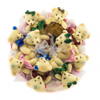 Букет из 11 игрушек
